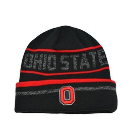 f6d3fe0104c Top of the World Ohio State Buckeyes Block O Knit Beanie