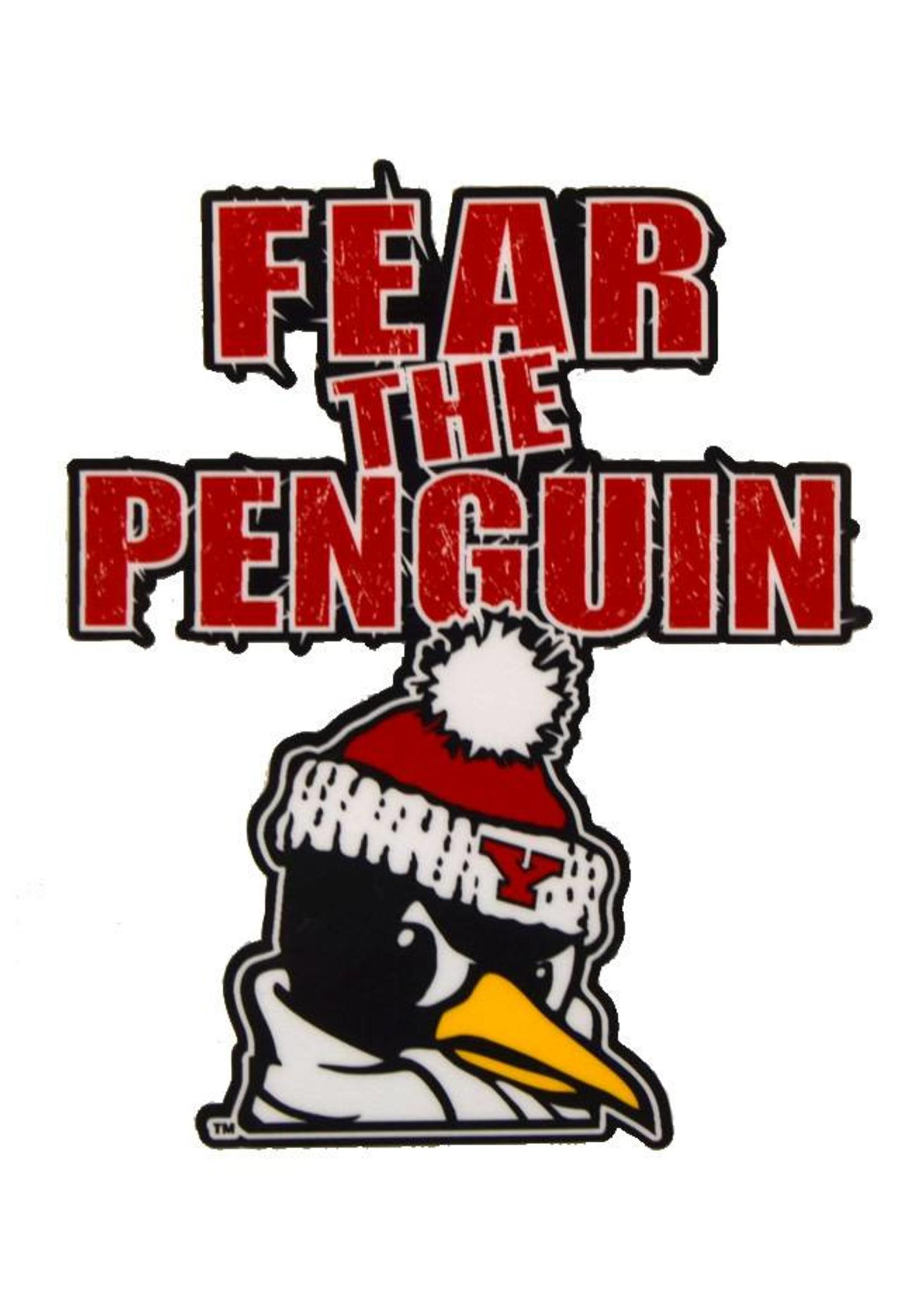 YSU Fear the Penguin 4x4 Decal