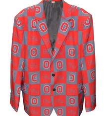 Ohio State Buckeyes Checkered Party Blazer