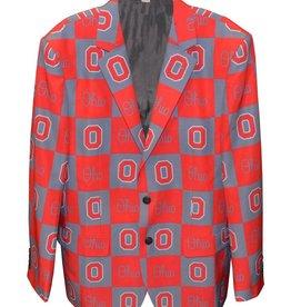Ohio State Buckeyes Checkered Party Blazer