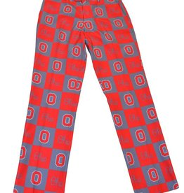 Ohio State Buckeyes Checkered Party Pants