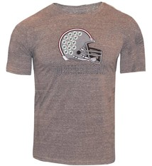 Top of the World Ohio State Unniversity Football Helemt Triblend Tee