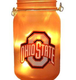 Ohio State University Mason Jar LED Lantern