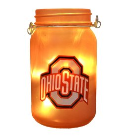 Ohio State University Mason Jar LED Lantern
