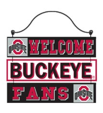 Ohio State Welcome Buckeye Fans Sign