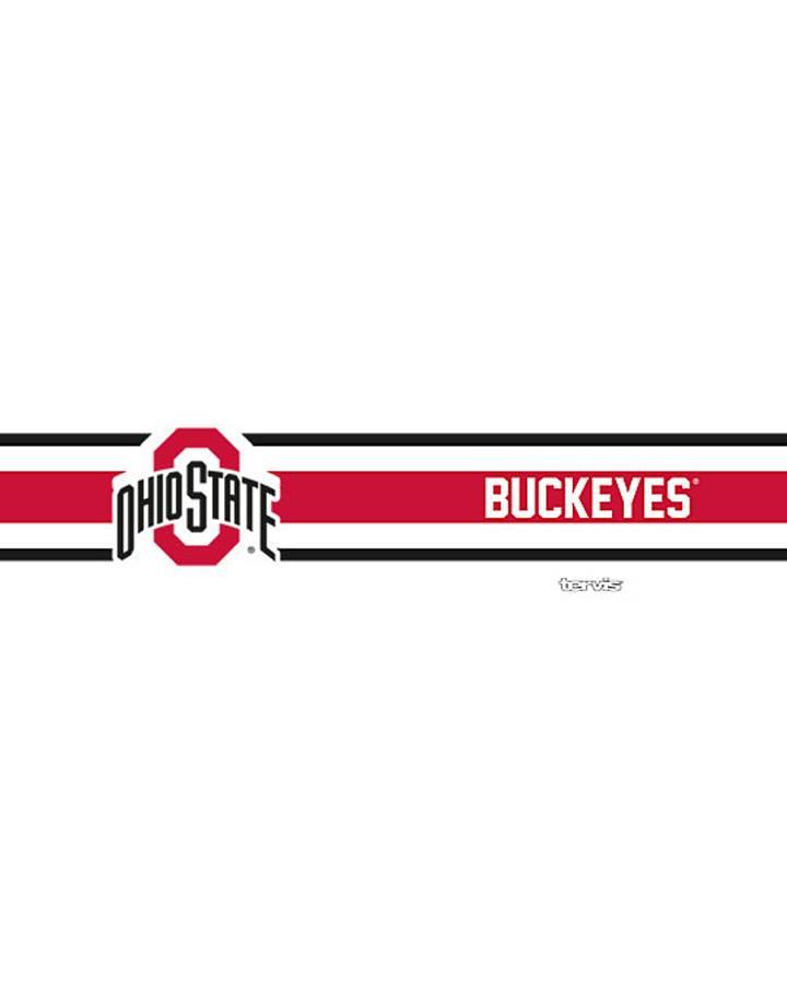 Tervis Ohio State Buckeyes Stripes 12oz Stainless Steel Tumbler