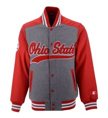 Starter Ohio State Buckeyes Starter NCAA Men's Letterman Jacket