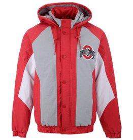 Starter Ohio State Buckeyes Starter NCAA Men's Nylon Full Zip Jacket