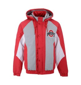 Starter Ohio State Buckeyes Starter NCAA Men's Nylon Full Zip Jacket