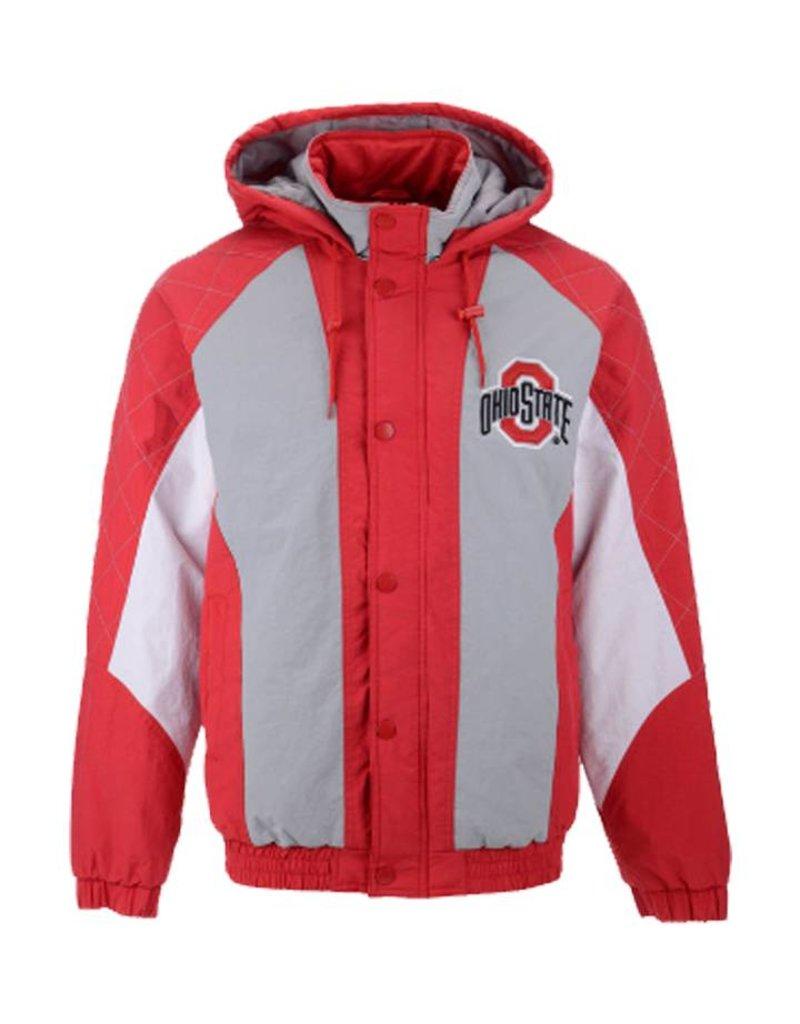 Starter Ohio State Buckeyes Starter Ncaa Men S Nylon Full Zip Jacket