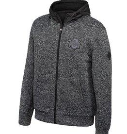 Top of the World Ohio State Buckeyes Men's Castlerock Full Zip Sweater Jacket