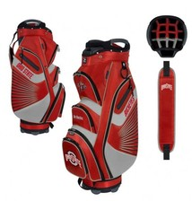 Ohio State Buckeyes Bucket Cart Golf Bag