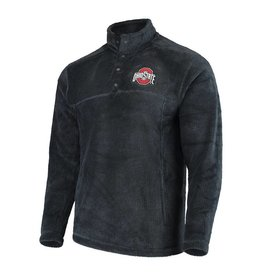 sale retailer 88ff7 d695d Top of the World Ohio State Buckeyes Charcoal Fleece Pullover Jacket