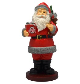 Ohio State Santa with Gift Figurine