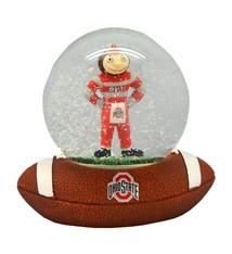 Ohio State University Brutus Snow Globe