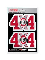 Ohio State Buckeyes 4x4 Decal 2 Pack