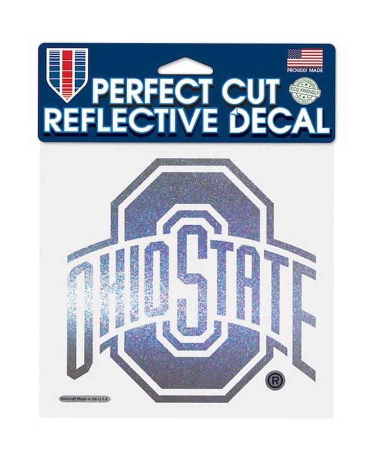 Wincraft Ohio State University Athletic O 6x6 Reflective Decal