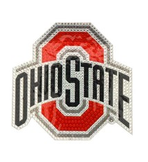 Ohio State Buckeyes Rhinestone Window Decal