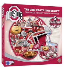 Ohio State 500 Piece Helmet Shaped Jigsaw Puzzle