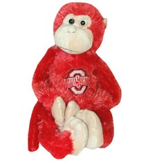 Ohio State University Plush Monkey with Moveable Legs