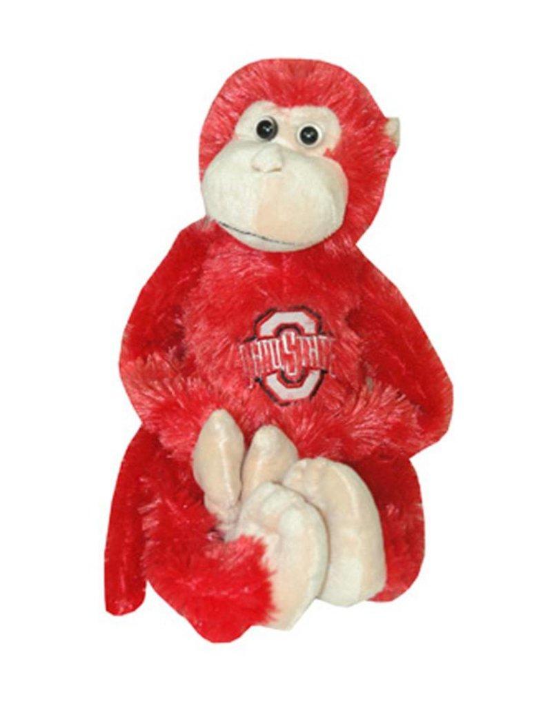 Ohio State University Plush Monkey with Moveable Legs