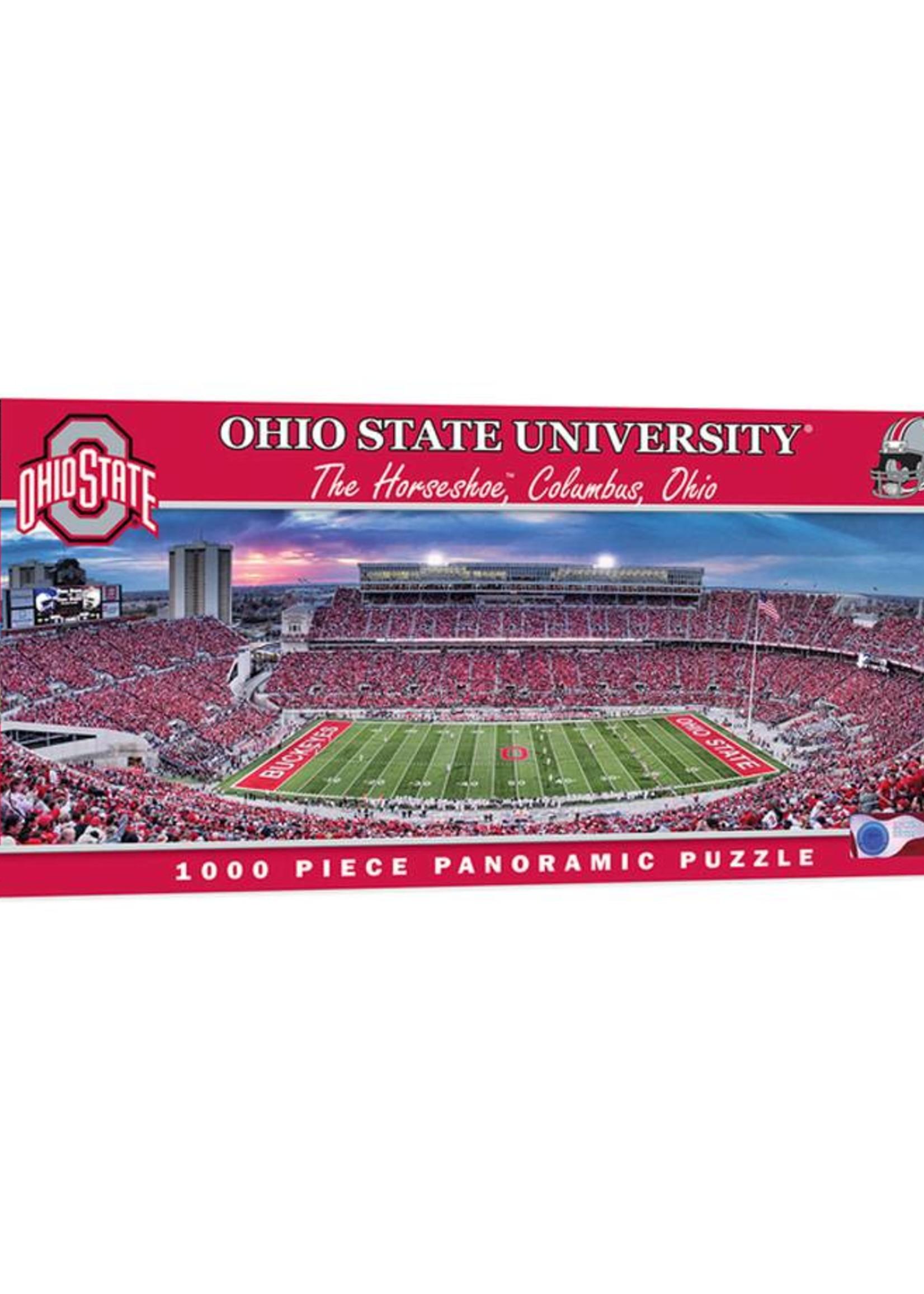 Ohio State Buckeyes 1000 Piece Stadium Panoramic Jigsaw Puzzle