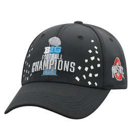 Top of the World Ohio State Buckeyes 2018 Big Ten Champions Locker Room Adjustable Hat