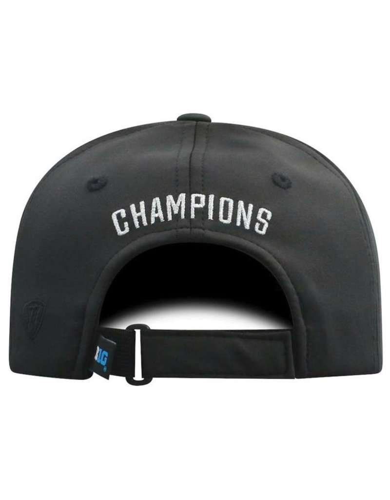 Top of the World Ohio State Buckeyes 2018 Big Ten Champions Locker Room Adjustable Hat