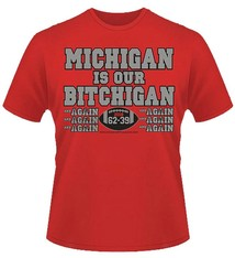 Ohio State Buckeyes *ichigan is Our *itchigan T-Shirt