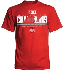 Top of the World Ohio State Buckeyes 2018 Big Ten Champions Locker Room T-Shirt