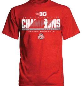 Top of the World Ohio State Buckeyes 2018 Big Ten Champions Locker Room T-Shirt