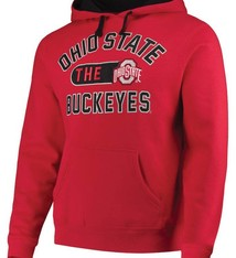 Top of the World Ohio State Buckeyes Contrast Fleece Pullover Hoodie