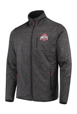 Top of the World Ohio State Buckeyes Tech Full-Zip Sweater