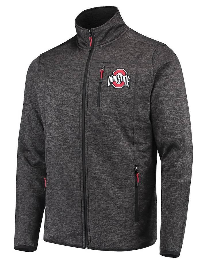 Top of the World Ohio State Buckeyes Tech Full-Zip Sweater