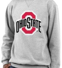 Top of the World Ohio State Buckeyes Primary Logo Crewneck Sweatshirt
