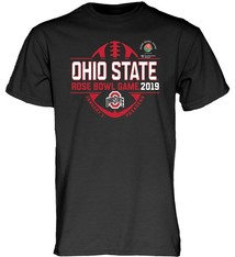 Ohio State Buckeyes 2019 Rose Bowl Football T-Shirt
