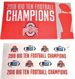 Wincraft Ohio State 2018 B1G Ten Champions Towel