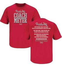 Thank You Coach Meyer T-Shirt