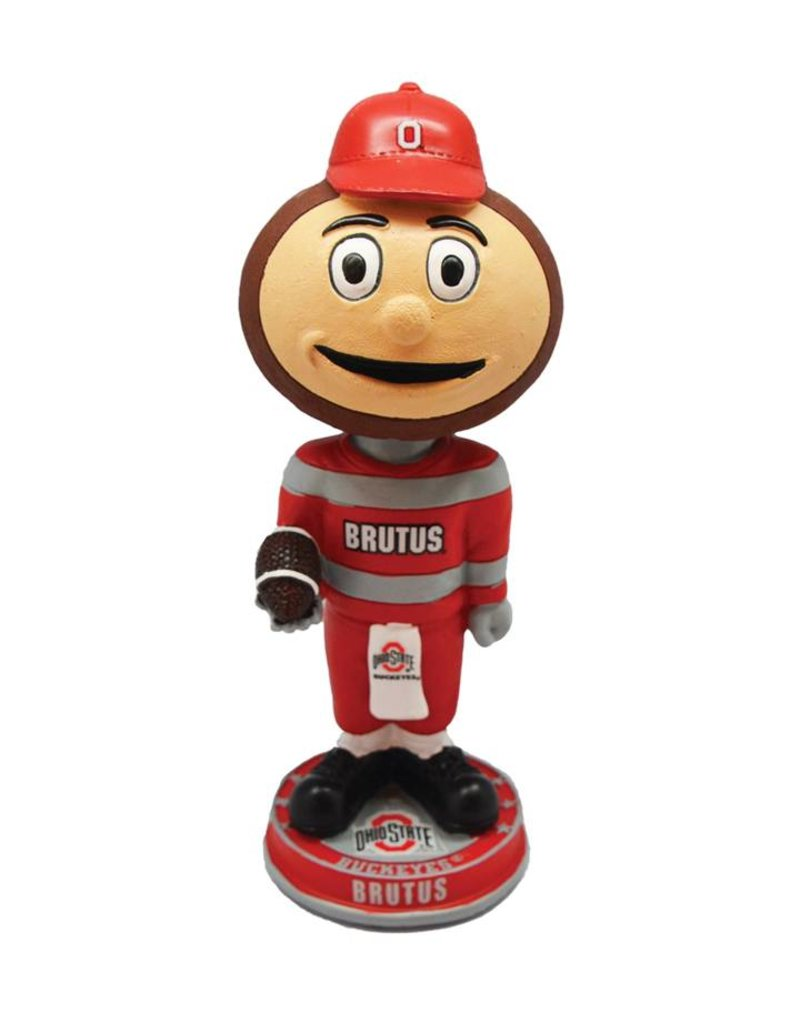 Forever Collectibles Ohio State Brutus Mascot Bobblehead
