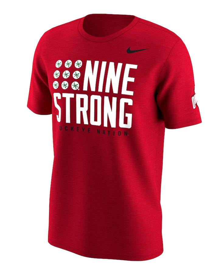 Nike Ohio State Buckeyes Nine Strong T-Shirt
