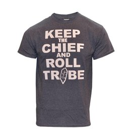 Cleveland Indians Keep the Chief and Roll Tribe T-Shirt