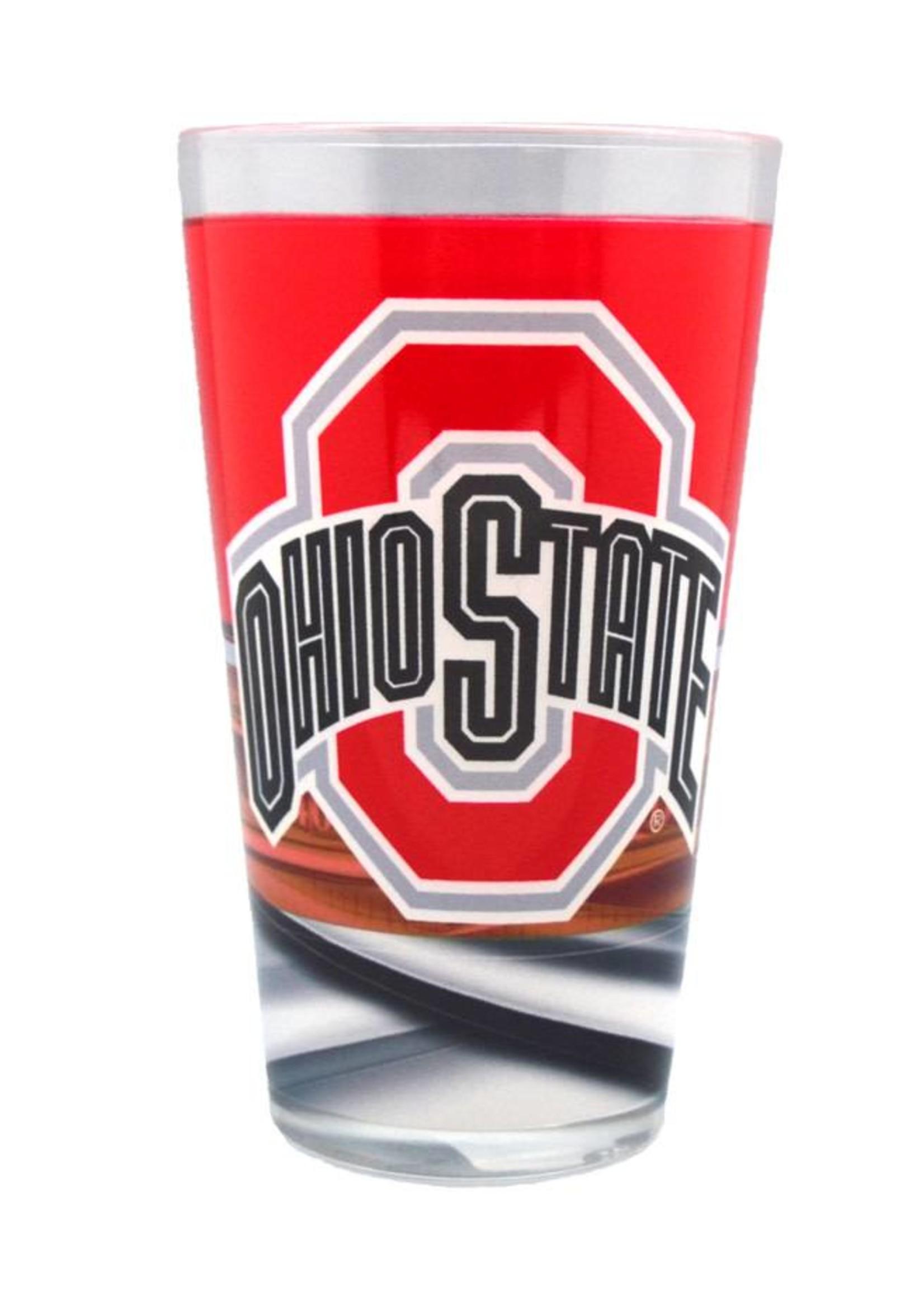 Ohio State Buckeyes 16oz Field Pint Glass