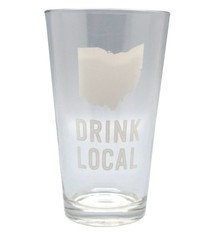 Ohio Drink Local 16oz Pint Glass