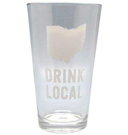 Ohio Drink Local 16oz Pint Glass