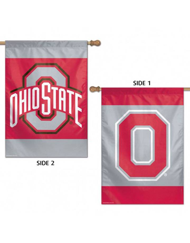 "Wincraft Ohio State University 2 Sided House Flag 28"" x 40"""