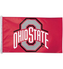 Wincraft Ohio State University WinCraft Deluxe Flag, 3' x 5'