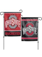 Wincraft Ohio State Buckeyes 12.5x18 2-Sided Garden Flag