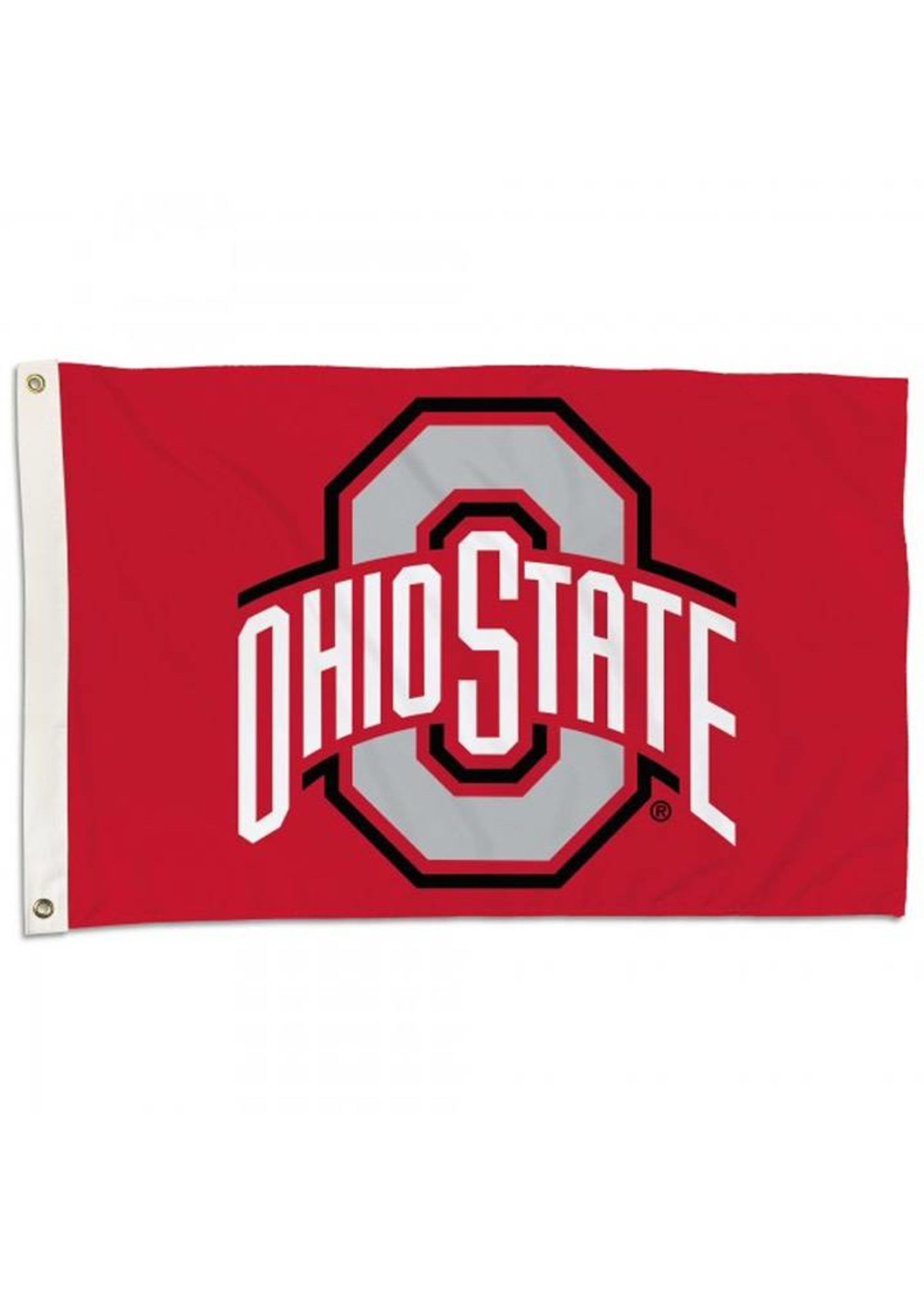 Ohio State Buckeyes 2x3 Flag With Grommets