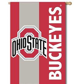 "Ohio State University 28""x44"" Two Sided Flag"