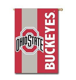 "Ohio State University 28""x44"" Two Sided Flag"